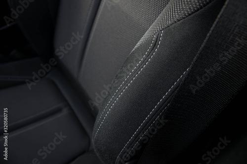 Fotografie, Obraz 2017 BMW 1 Series front seat stitching