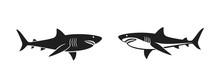 Shark Logo. Isolated Shark On ...