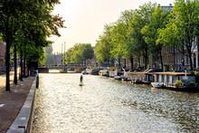 Amsterdam, Netherlands. A Man ...