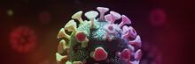 Microscopic View Of A Coronavi...