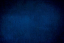 Dark Blue Grungy Backdrop Or T...