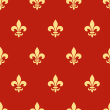 Vector Seamless Pattern With G...