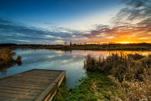 Beautiful Sunrise Over River B...