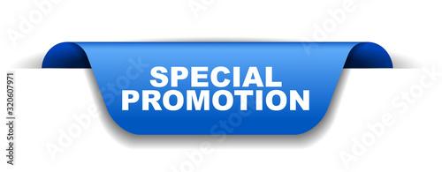 Cuadros en Lienzo blue vector banner special promotion