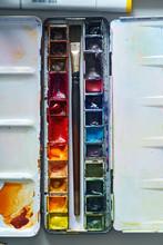 Set Of Watercolor Paints Often...