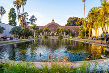 Magical San Diego's Balboa Park At Twilight In San Diego California USA