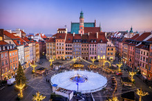 Old Town Square With Ice Rink ...