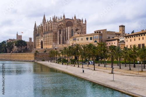 Cathedral La Seu, Palma de Mallorca, Spain