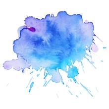 Watercolor Brush Paint Paper T...