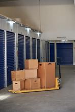 Inside Industrial Self Storage...