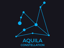 Aquila Constellation. Stars In...