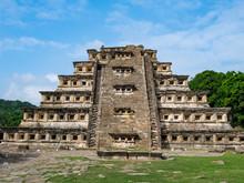 Pre-Columbian Archaeological Site Of El Tajin, Veracruz, Mexico