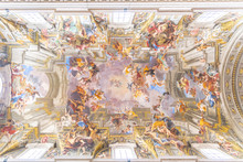 Picturesque Painted Ceiling Of...