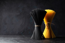 Dry Black Pasta With Cuttlefis...
