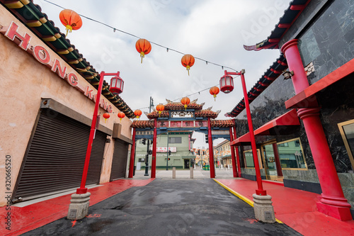 Centralny plac Chinatown w Los Angeles