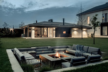 Modern Estate With House And S...