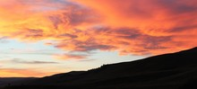 Sunset View At Yellowstone Nat...
