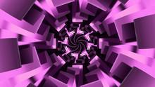 Futuristic Purple Tunnel Tripp...