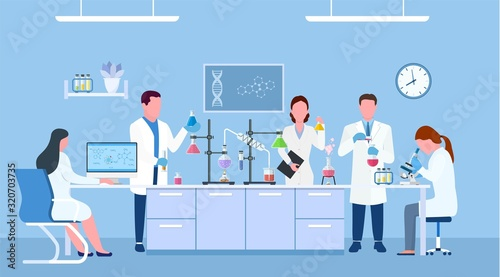 Photo Scientists in lab