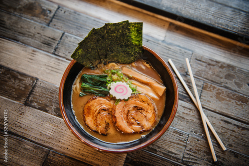 Japanese ramen  - 320704705
