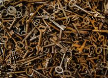 Antique Keys For Sale At A Fle...