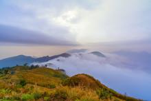 Landscape Of Phucheefah Mounta...