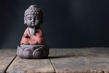 Buddha Image Sit On Lotus Bles...