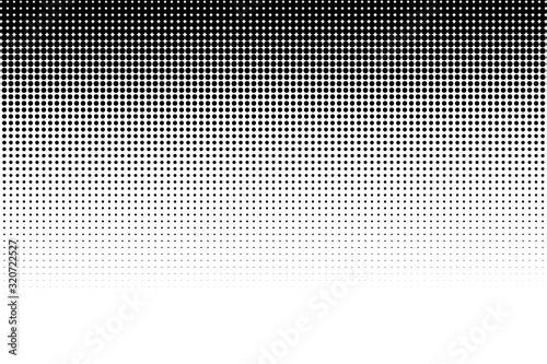 Halftone dots pattern texture background Canvas Print