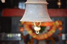 Ancient Hanging Bell At Maa Sh...