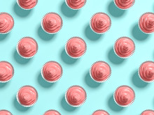 Punchy Pastels Cake Abstract B...