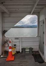 Motukarka Hokianga River New Zealand. Ferry Boat To Rawene