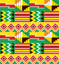 African Tribal Design Kente Nw...