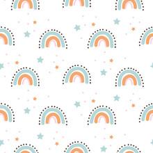 Rainbow Cute Shapes Baby Theme...