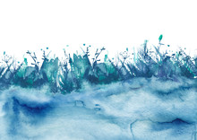 Watercolor Illustration, Wild ...