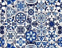 Lisbon Geometric Tile Vector P...