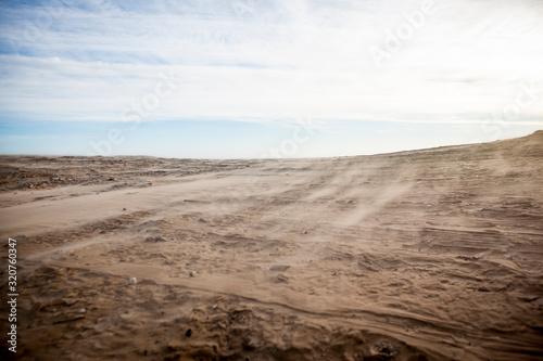 Fényképezés Sand dunes on the beach