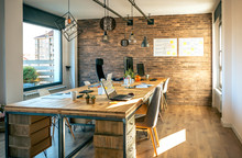 Interior Of Industrial Style C...