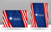 Set Of Patriotic Vector Illust...