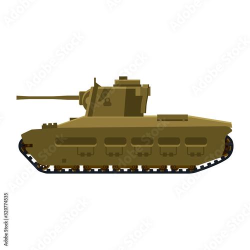 Photo Tank Infantry Mk.II Matilda World War 2 Britain tank
