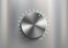 Metal Knob Dial For Volume Con...