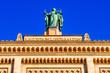 Leinwanddruck Bild - bavarian government building