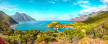 Girolata Bay In Natural Reserve Of Scandola.