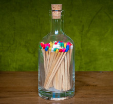 Matchstick In Bottle