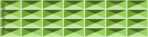 Abstract Structure Blocks Generative Art background illustration Canvas Print