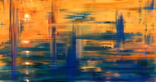 Abstract Art Landscape Paintin...