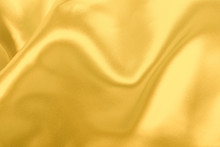 Gold Fabric Texture Used As Ba...