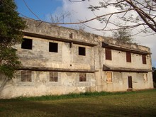 Japanese Communications Building, Remnants Of The World War 2 In Tinian, Northern Mariana Islands.