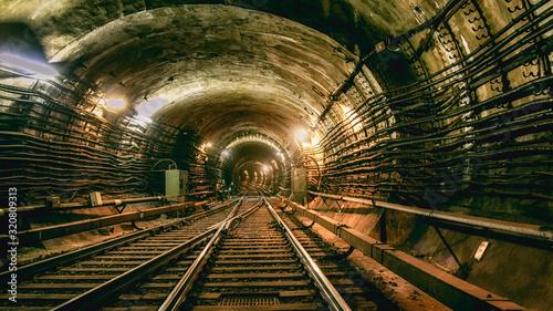 Fotografering underground tunnel