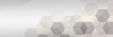 Abstract technology background with hexagons