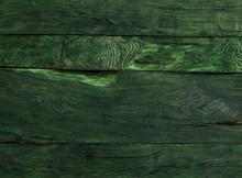 Dark Green Wooden Background, ...